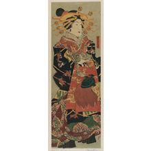 Utagawa Yoshitora: Courtesan on Parade - Museum of Fine Arts