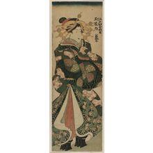 無款: Wakamurasaki of the Tamaya in Edo-machi Itchôme - ボストン美術館