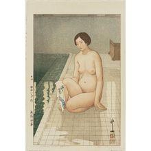Yoshida Hiroshi: Atami Hot Spring (Atami onsen) - Museum of Fine Arts