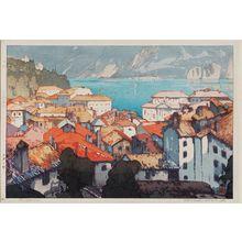 Yoshida Hiroshi: Lugano (Rugano machi) - Museum of Fine Arts