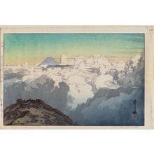 Yoshida Hiroshi: From Komagatake (Komagatake sanchô yori), from the series Southern Japan Alps (Nihon Minami Arupusu shû) - Museum of Fine Arts
