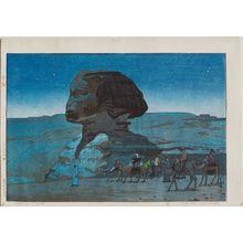Yoshida Hiroshi: Sphinx–Night (Sufuinkusu) - Museum of Fine Arts