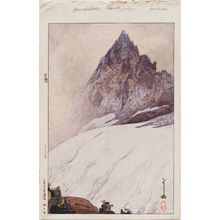 吉田博: Yarigatake, from the series Twelve Scenes in the Japan Alps (Nihon Arupusu jûni dai no uchi) - ボストン美術館