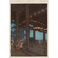 Yoshida Hiroshi: Nigatsudo (Nigatsu Temple) - Museum of Fine Arts