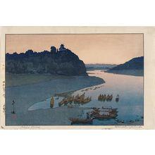 吉田博: Kiso River (Kisogawa) - ボストン美術館