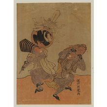 Isoda Koryusai: Monkeys Dancing - Museum of Fine Arts