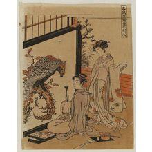 磯田湖龍齋: Evening Bell of the Eagle (Washi no banshô), from the series Eight Indoor Views of Notable Birds (Meichô zashiki hakkei) - ボストン美術館