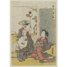 Isoda Koryusai: Daikoku, from the series Fashionable Amusements of the Seven Gods of Good Fortune (Fûryû Shichifukujin tawamure) - Museum of Fine Arts