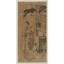 Ippitsusai Buncho: Actor Onoe Kikugorô - Museum of Fine Arts
