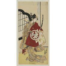 Ippitsusai Buncho: Actor Segawa Kikunojô II as Maizuru - Museum of Fine Arts