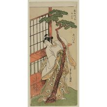 Ippitsusai Buncho: Actor Ichikawa Monnosuke II as Tsunewakamaru - Museum of Fine Arts