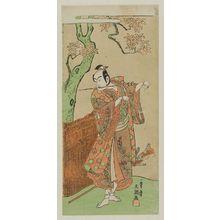 Ippitsusai Buncho: Actor Ichikawa Yaozô II - Museum of Fine Arts
