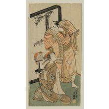 Ippitsusai Buncho: Actors Ichikawa Danjuro and Yoshizawa Ayame - Museum of Fine Arts