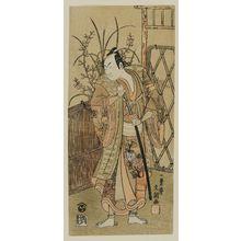 Ippitsusai Buncho: Actor Ichikawa Komazô II - Museum of Fine Arts