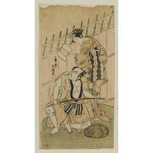 Ippitsusai Buncho: Actors Nakamura Matsue and Ôtani Hiroji - Museum of Fine Arts