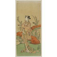 Ippitsusai Buncho: Actor Nakamura Matsue - Museum of Fine Arts