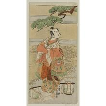 Ippitsusai Buncho: Actor Ichikawa Komazô I as Yukihira - Museum of Fine Arts