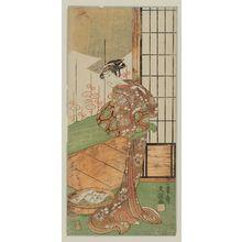 Ippitsusai Buncho: Actor Segawa Kikunojo II as Komachi - Museum of Fine Arts
