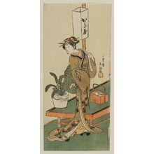 Ippitsusai Buncho: Actor Nakamura Matsue as Kagiya Osen - Museum of Fine Arts