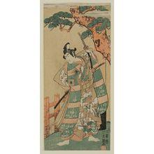 Ippitsusai Buncho: Actor Ichikawa ?suke - Museum of Fine Arts