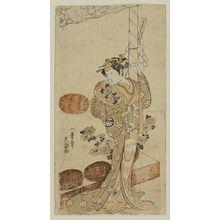 Ippitsusai Buncho: Actor Segawa Kikunojô II - Museum of Fine Arts