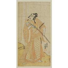 Ippitsusai Buncho: Actor Ichikawa Danjuro IV as Matsunaga Taizen - Museum of Fine Arts