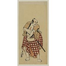 Ippitsusai Buncho: Actor Sakata Hangoro II as Jufu no Sato no Sugaemon - Museum of Fine Arts