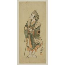 Ippitsusai Buncho: Actor Ichikawa Komazô (later Matsumoto Kôshirô IV) as Monogusa Tarô - Museum of Fine Arts