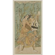 Ippitsusai Buncho: Actor Ichikawa Danjûrô IV as Kagekiyo - Museum of Fine Arts
