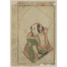 Ippitsusai Buncho: Actor Matsumoto Daishichi, page from Ehon Butai Ogi - Museum of Fine Arts