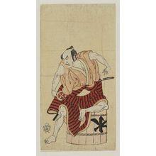 勝川春章: Actor Ôtani Hiroemon II - ボストン美術館
