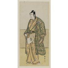 勝川春章: Actor Ichikawa Komazo II - ボストン美術館
