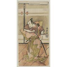 Katsukawa Shunsho: Actor Bando Matataro IV - Museum of Fine Arts