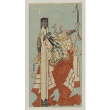 Katsukawa Shunsho: Actor Ichikawa Danjuro - Museum of Fine Arts
