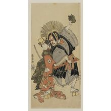 Katsukawa Shunsho: Actor Nakamura Nakazo - Museum of Fine Arts