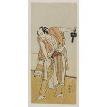 Katsukawa Shunsho: Actor Ichikawa as Shibito Dozaemon - Museum of Fine Arts