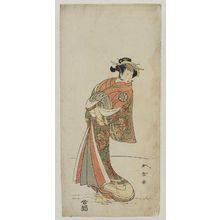 Katsukawa Shunsho: Actor Nakamura Noshio as Yamabuki - Museum of Fine Arts