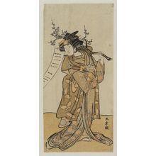 Katsukawa Shunsho: Actor Yamashita Kinsaku II - Museum of Fine Arts
