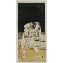 Katsukawa Shunsho: Actor Ôtani Hiroji III as Banba no Chûda - Museum of Fine Arts