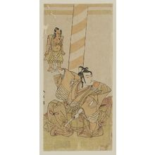 Katsukawa Shunsho: Actor Ichikawa Monnosuke as Goro Tokimune - Museum of Fine Arts