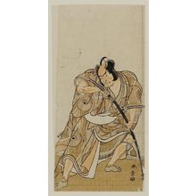 Katsukawa Shunsho: Actor: Ichikawa Danzo IV as Kajiwara? - Museum of Fine Arts