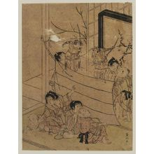 Kitao Shigemasa: Children Putting on a Puppet Show - Museum of Fine Arts