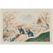 Dômoto Insho: Women of Ôhara (Ôharame), from the album Eight Views of Kyoto (Kyôto hakkei) - ボストン美術館