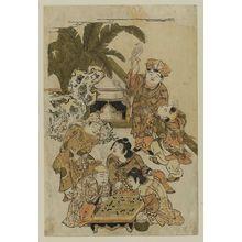 Kitao Shigemasa: Chinese Boys Playing Go - Museum of Fine Arts