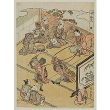 Ishikawa Toyomasa: Monkey, the Ninth Month (Saru, Kikuzuki), from the series Twelve Signs of the Zodiac (Jûni shi) - Museum of Fine Arts