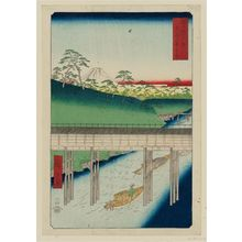 Utagawa Hiroshige: Ochanomizu in Edo (Tôto Ochanomizu), from the series Thirty-six Views of Mount Fuji (Fuji sanjûrokkei) - Museum of Fine Arts