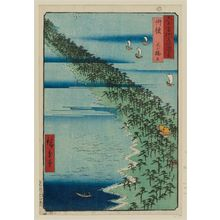 歌川広重: Tango Province: Ama no hashidate (Tango, Ama no hashidate), from the series Famous Places in the Sixty-odd Provinces [of Japan] ([Dai Nihon] Rokujûyoshû meisho zue) - ボストン美術館