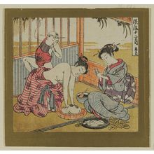 Isoda Koryusai: The Fifth Month (Satsuki), from the series Fashionable Twelve Months (Fûryû jûni tsuki) - Museum of Fine Arts