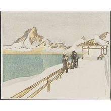 Maekawa Senpan: Inlet in Hokkaido - Museum of Fine Arts
