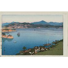 吉田博: A Calm Day, from the series Inland Sea (Seto Naikai) - ボストン美術館